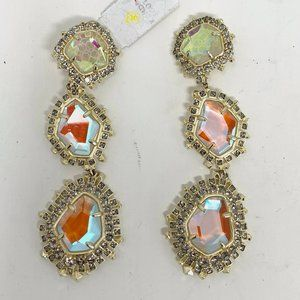 $250 Kendra Scott Aria Earrings